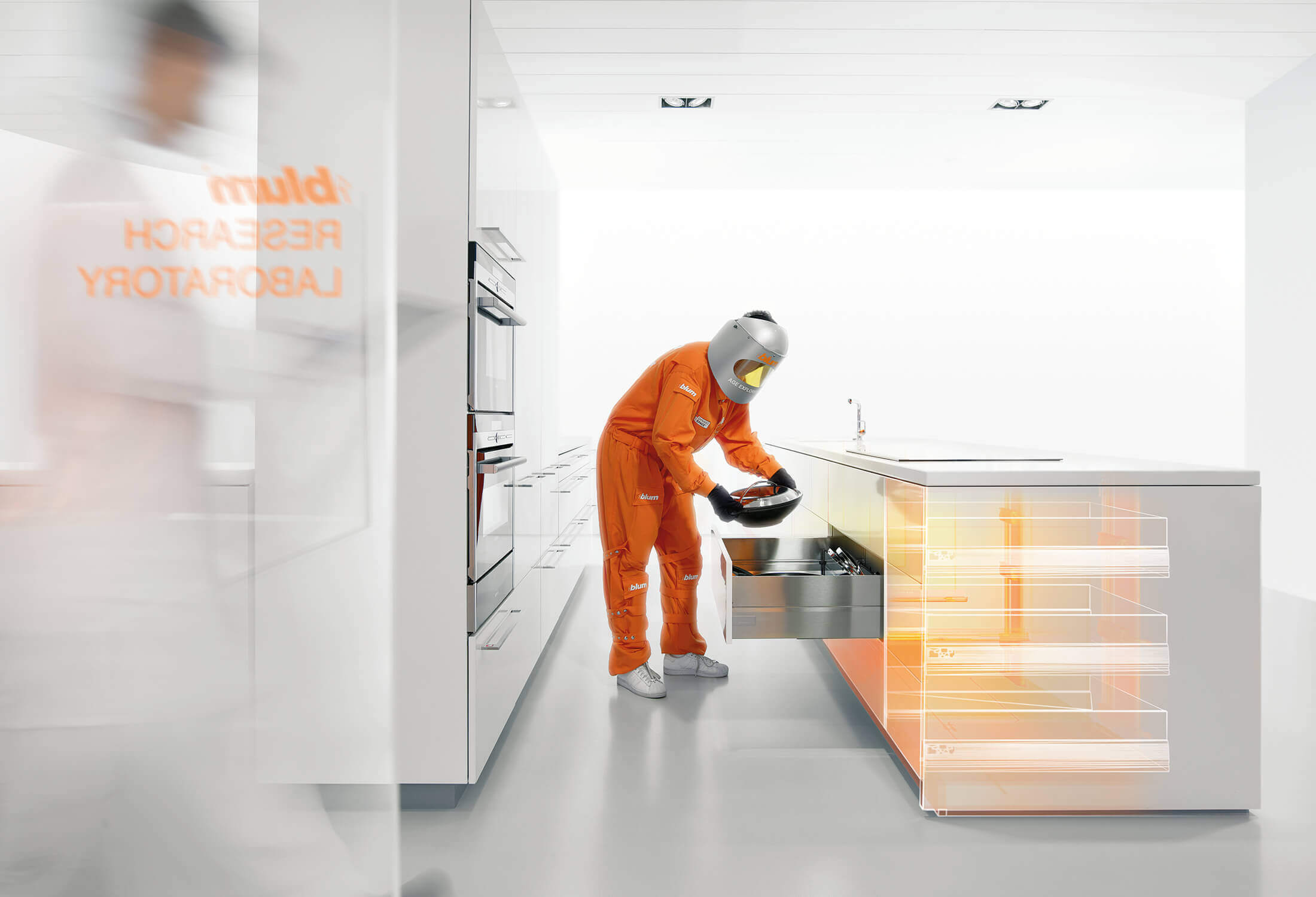 Blum Corporate-Design-Entwicklung