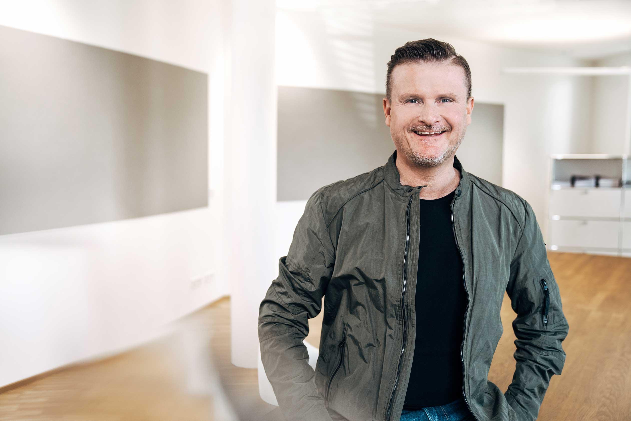 Bjoern Michael Walz, Geschäftsführer der Markenagentur Lighthouse ®