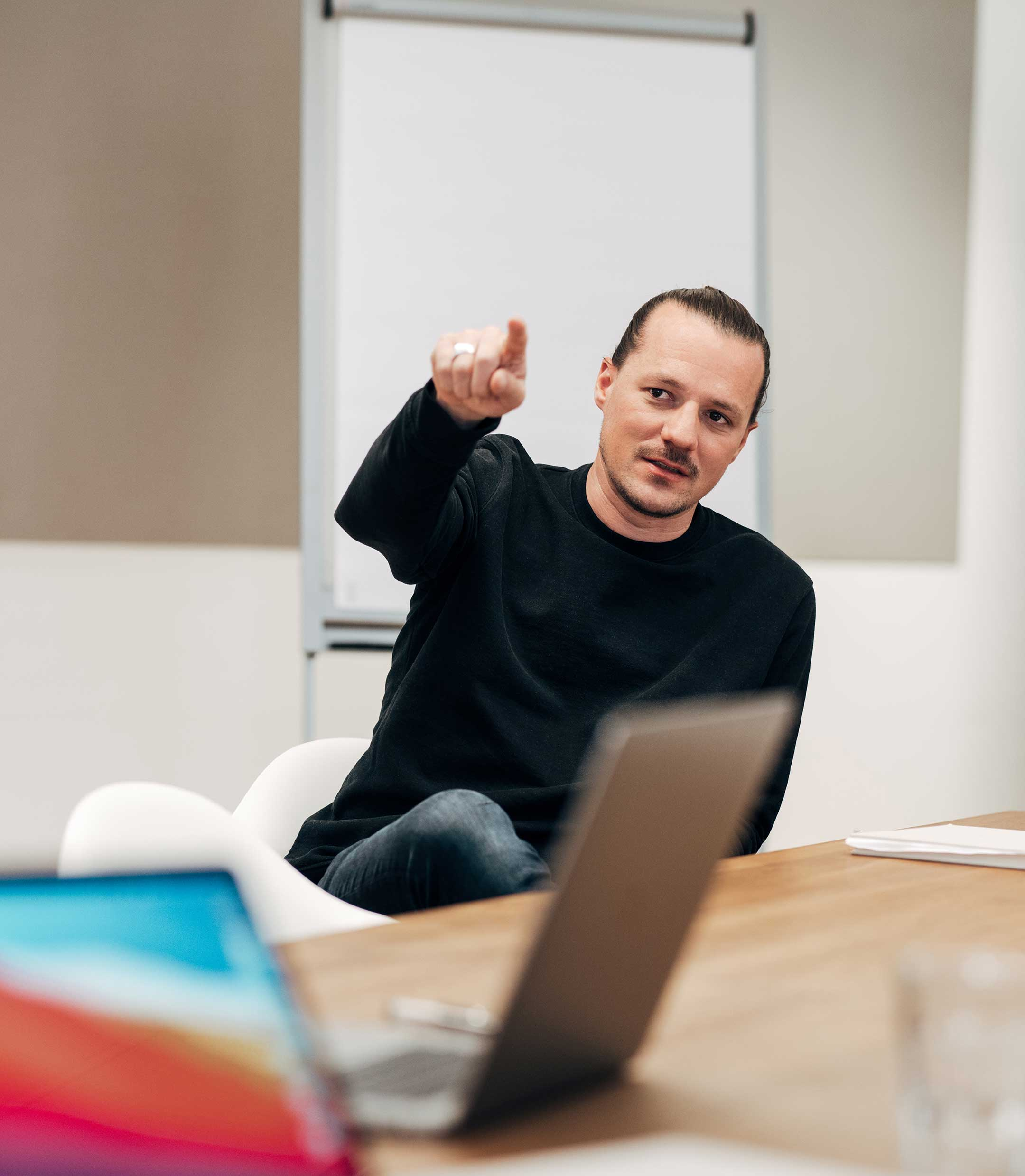 Christian Mack, Creative Director bei der Markenagentur Lighthouse ®