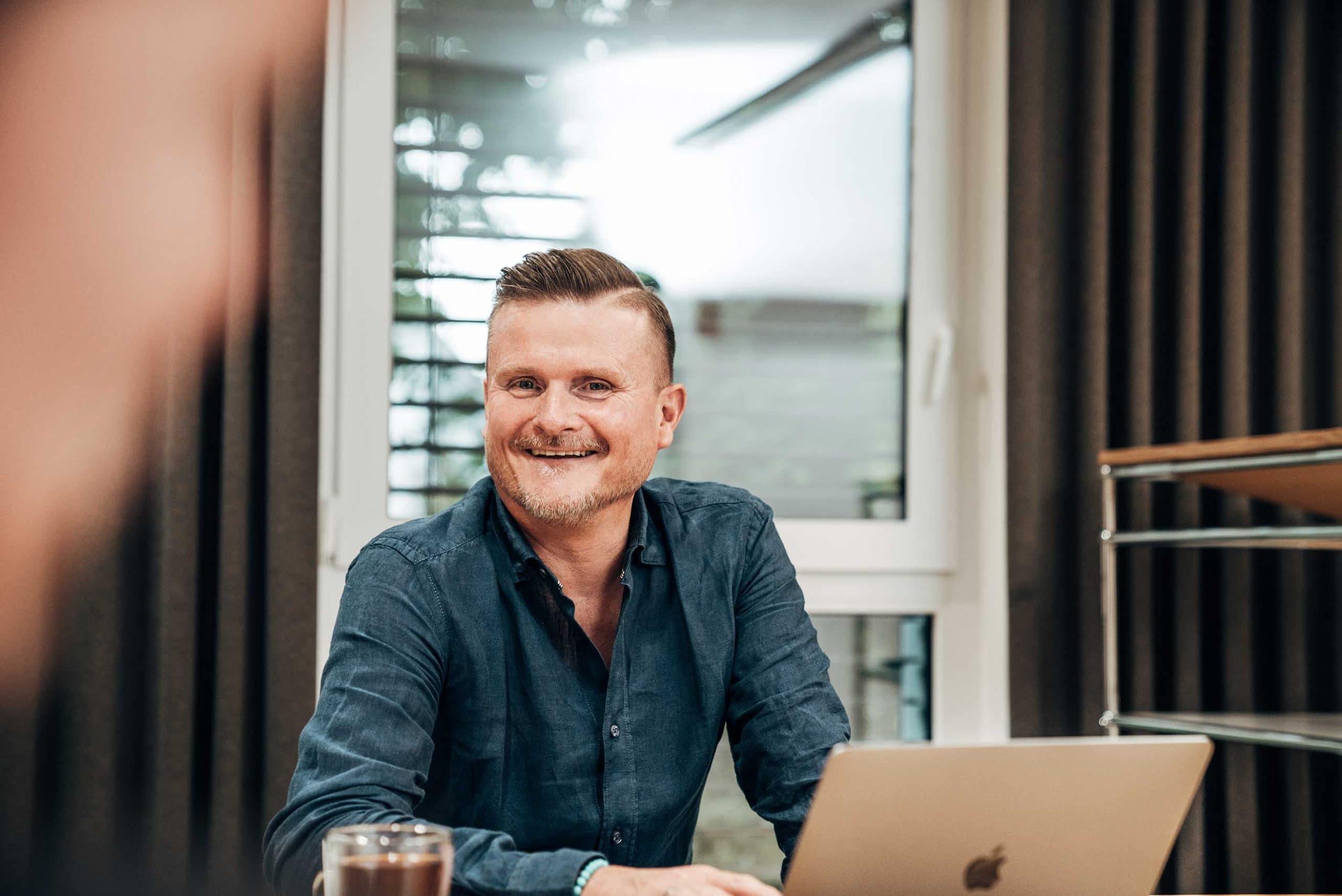 Bjoern Michael Walz, Geschäftsführer der Markenagentur Lighthouse
